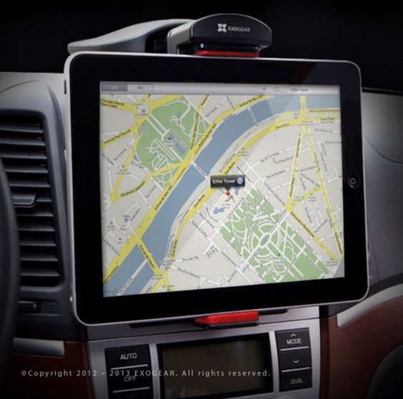 #iPad #Car #Mount.                 Easily Mount 9 to 10-inch Tablets, World's Best Suction Cup Technology,      Multi-Angle 360° Rotation Viewing,      Light-Weight And Compact Design,      Mounts On Any Dashboard,      Rattle-Free Operation,      Folds For Easy Storage,                http://www.exogear.com/products-exomount-tablet-car-dash-mount3.html