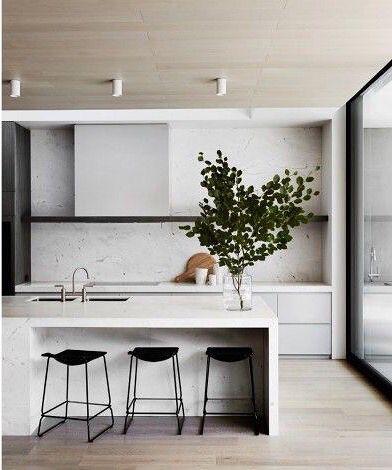 Black and white kitchen | Scandinavian style kitchens
