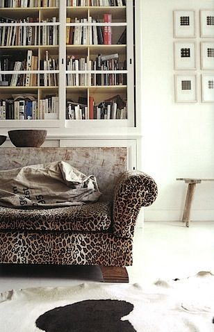 Play With Patterns and Prints. Leopard. Stylist: Julia Bird.
