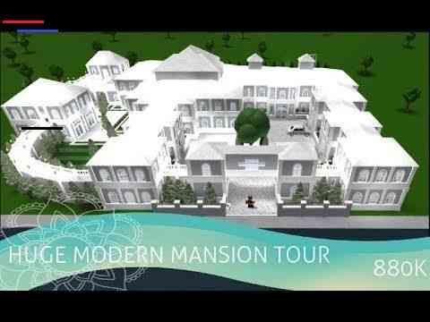 Huge Modern Mansion Tour L Roblox Bloxburg L 868k Dreammansion In 2020 Mansion Tour Mansions Modern Mansion