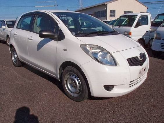 Japanese vehicles to the world: 2007 Toyota Vitz for Kenya to Mombasa - Wholesale