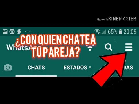 Al Fin Como Saber Con Quien Chatea Tu Pareja Por Whatsapp Facil Y Rapido 2019 Youtube Trucos Para Whatsapp Trucos Para Teléfono Trucos Para Android