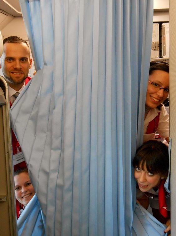 Austrian Airlines cabin crew #austrian #cabincrew www.corporatetravelagency.net