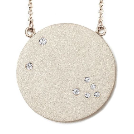 Giving Tree Jewelry — Ella Poe- Sterling and Diamond Constellation Necklace