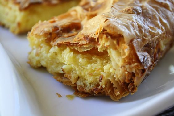 Greek Kaseri Cheese Pie — Κασερόπιτα  OMG  I might just turn Greek1: