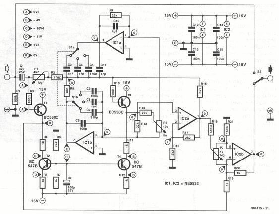 elektor parametric eq