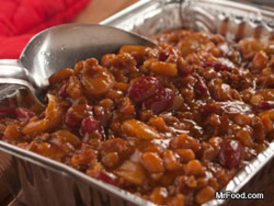 Hillbilly Baked Beans-everyone wanted the recipe; these are amazingly delicious