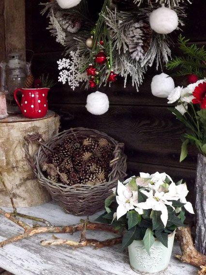 Weihnachtsdeko für draußen