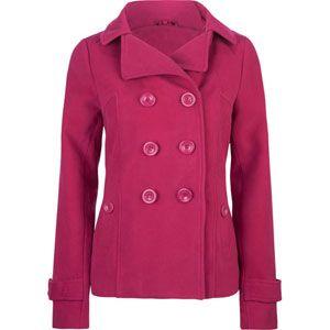 Women's peacoat pink! $19 (it went on sale!) vegan | Fashion