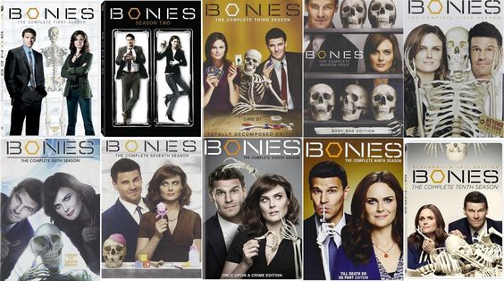 Bones: The Complete Series Seasons 1 - 10 (DVD)