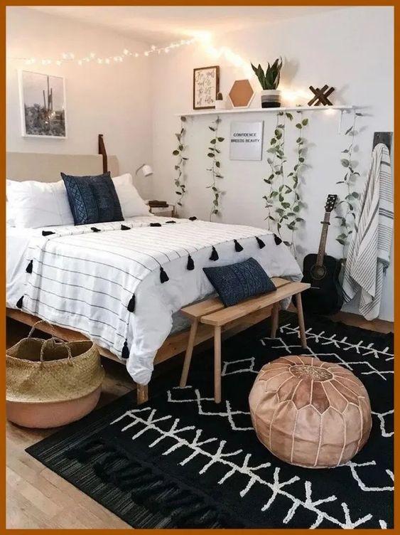 61 Cocoon Bedroom Decoration Ideas Cheap Bedroom Makeover Aesthetic Room Decor Bedroom Vintage