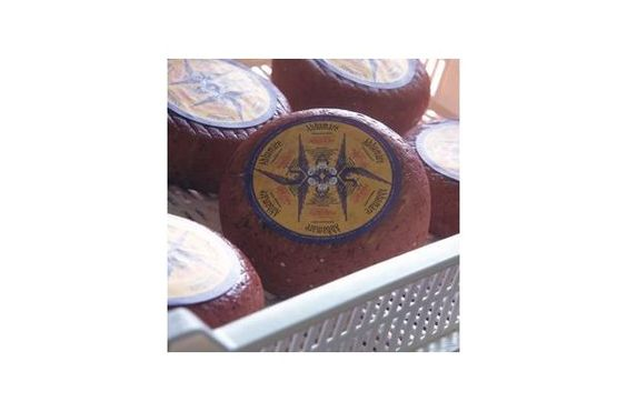 From Sardinia, abbamare is a semi-soft cheese made from a mixture of cows' and sheep's milk.