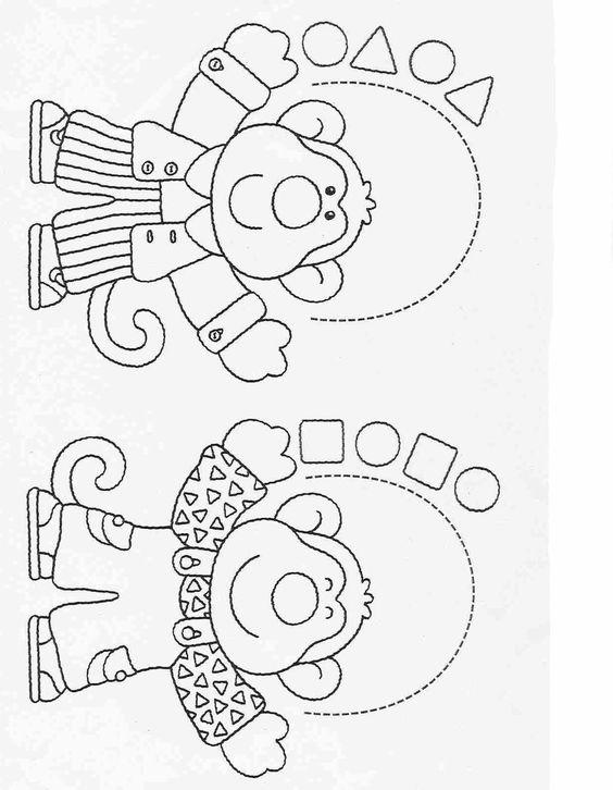 Actividades para niños preescolar, primaria e inicial. Fichas para imprimir en las que tienes que completar los dibujos y colorearlos para niños de preescolar y primaria. Completar y Colorear. 68