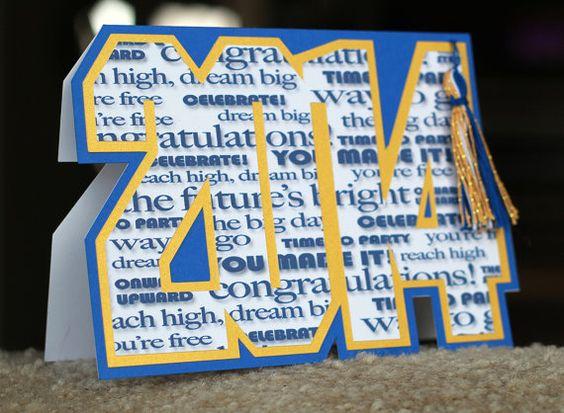 2014 Graduation Card - custom color available