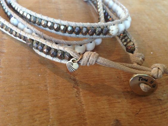 Team Favorite Beach Babe Wrap Bracelet