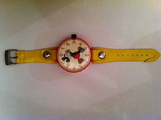 Marx Mickey Mouse vintage toy watch