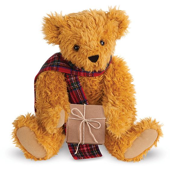 """15"""" Vintage Christmas Bear 