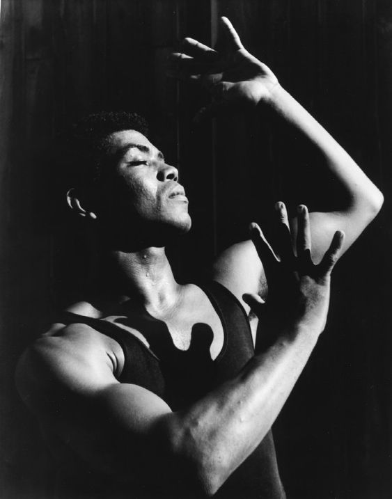 Alvin Ailey, photo by John Lindquist