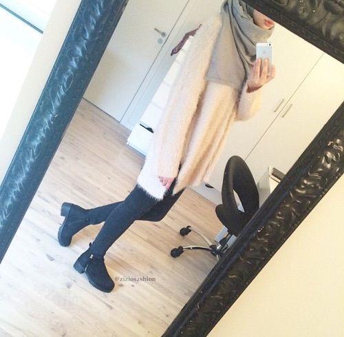 Minimal Chic Hijab We Heart It Fashion Hijab Love Hijabi O O T D Muslim Style