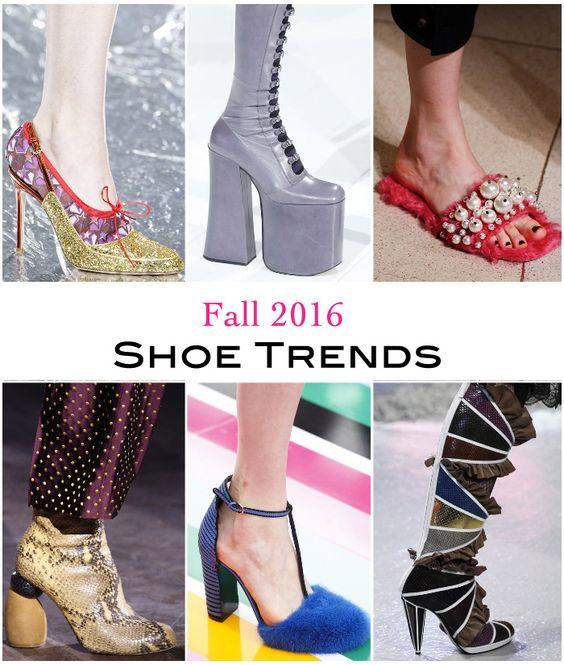 Womens Fall 2016 Shoe Trends