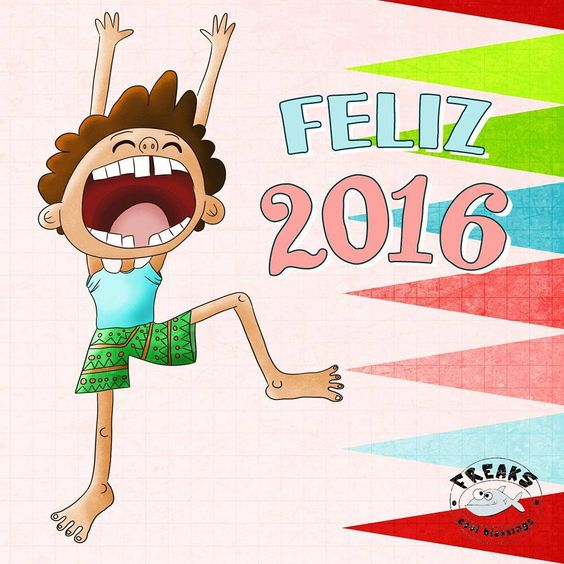 Happy new year! Feliz año nuevo! #happynewyear #illustration #drawing #2016 #sketch  #ilustracion