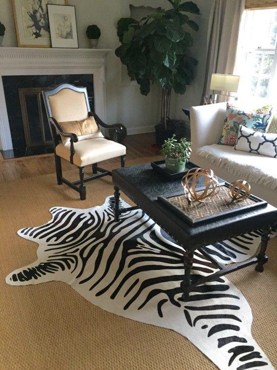 Zebra Rug In 2019 Seagr Rugs Gr