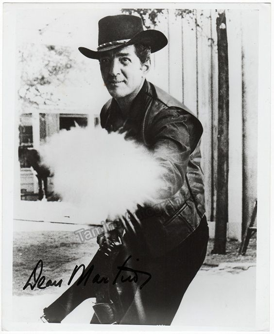 Martin, Dean - Signed Photo