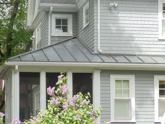 Metal Portico Roof Metal Roof Home Improvements