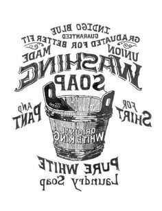 Recherche savons and transferts d 39 images on pinterest for Scritte vintage