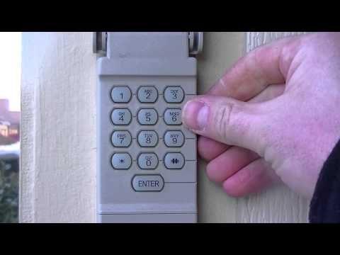 532 How To Reset Your Garage Door Keypad Pin Number Youtube Garage Door Keypad Liftmaster Garage Door Garage Doors