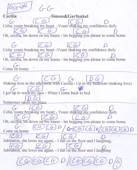 Song Lyrics with guitar chords for Band On The Run   Guitar ...
