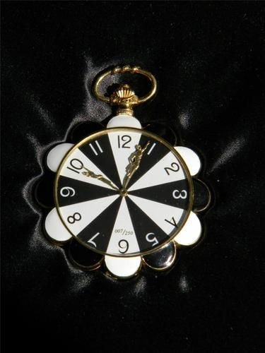 Original Erté 18 Karat Gold Pocket Watch Limited Edition # 007 of 250 Erte