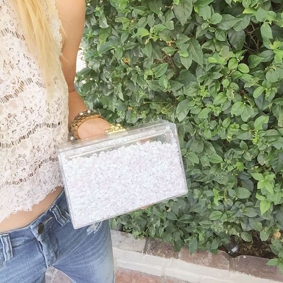 GLIMMER IN WHITE . . . . #comingsoon #boxclutch #gift #bridesmaid #ashlynd #clutches #clutch #handbad #tgif #new #ss17 #coterie #handmade #friday #wholesale #buyers #redcarpetready #weekend #ashlyndclutches #purse #bridal #wedding #accessories #2017