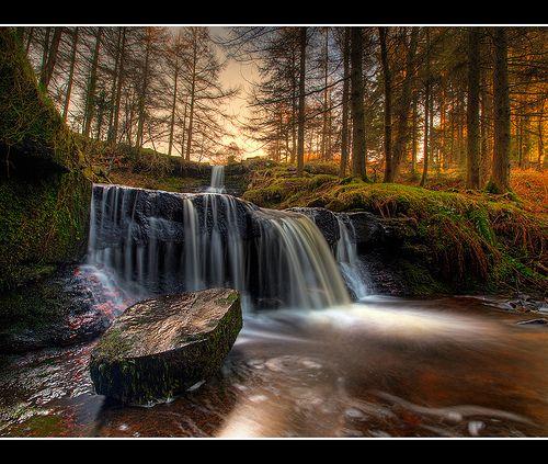 Talybont waterfalls #breconbeacons