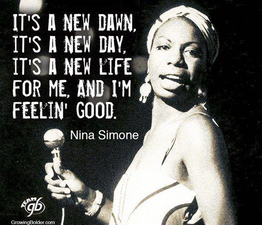 Nina Simone quote...LOVE her!!