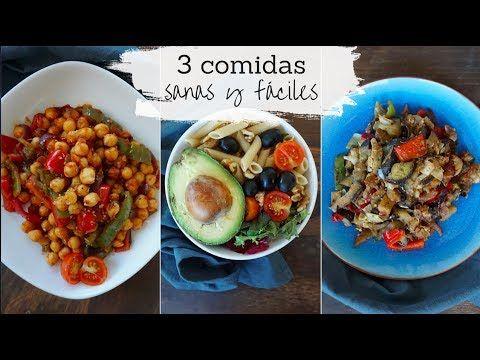 Ideas Sanas Faciles Y Baratas Para Comer Bien Youtube Comidas Saludables Y Baratas Almuerzos Saludables Recetas Saludables