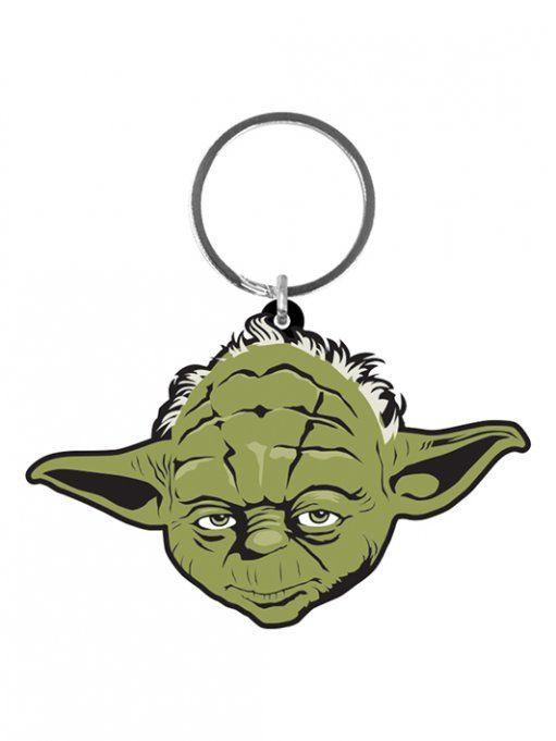Star Wars Gummi-Schlüsselanhänger Yoda 6 cm