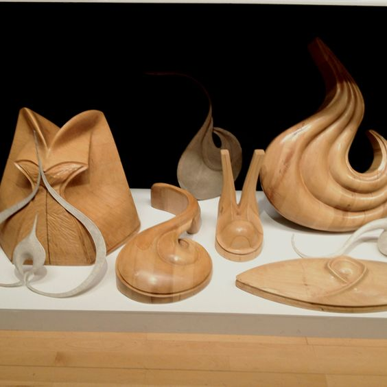 Phillip Treacy hat blocks -very sculptural - like seed pods Tate Gallery Liverpool  Sarah Feinmann