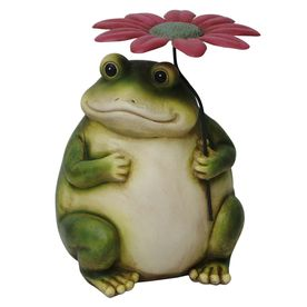 145 in H Frog Garden Statue takes me back Pinterest