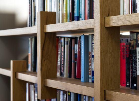 bookcase criss cross