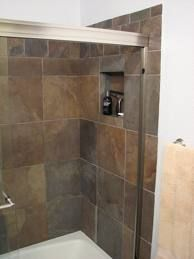 I like this color of tile... very perdy!