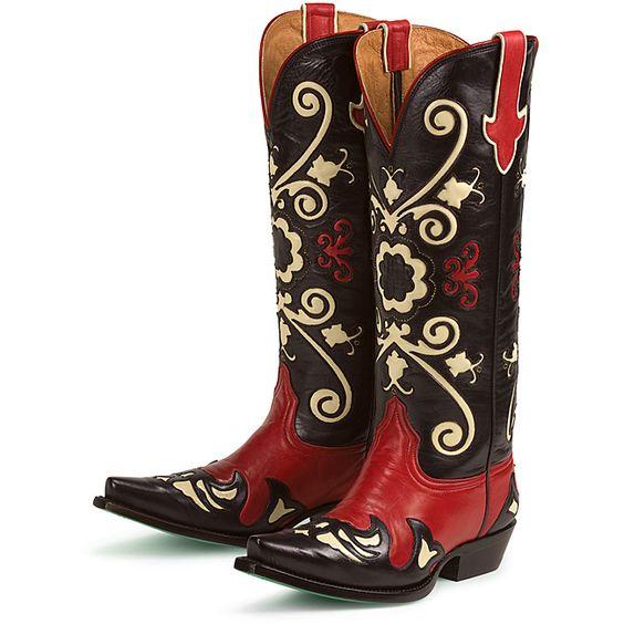 Lane Boots Women's 'Margaret' Cowboy Boots by Lane Boots | Cowboys ...