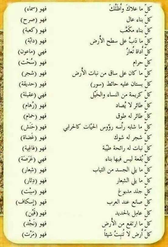Pin By Zeinab Mohamed On بالعربي Arabic Language Learning Arabic Learn Arabic Language