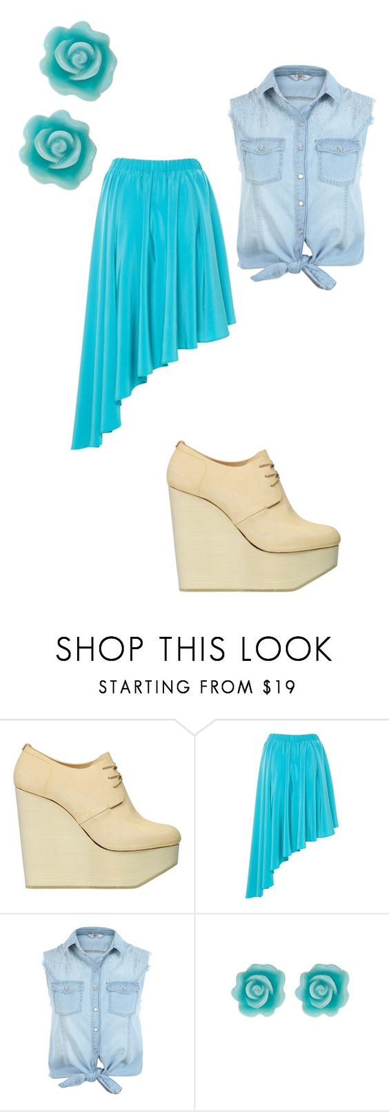 """""""v"""" by maria-look ❤ liked on Polyvore featuring Ets. CallataÃ¿, A