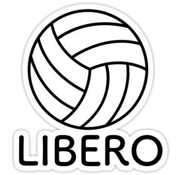 Volleyball Libero Sticker By Maddy Drye In 2020 Volleyball Workouts Volleyball Wallpaper Volleyball Posters