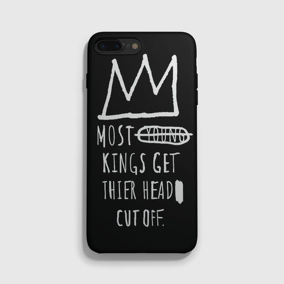 Jean Michel Basquiat Quotes iPhone 7 Case
