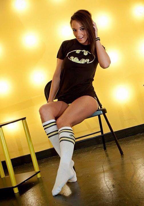Batman long socks!
