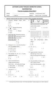 Download Soal Uts Ganjil Matematika Kelas 1 Semester 1 2016 2017 Rief Awa Blog Download Kumpulan Soal Ujian Temati Matematika Matematika Kelas Satu Belajar