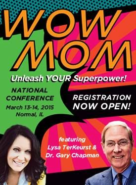 I'm so excited (and honored) to be speaking at both Hearts-At-Home Conferences in 2015! The Keynote speakers are Lysa Terkeurst and Dr. Gary Chapman (enter squeal here). I will be speaking in 5 workshops on two different topics: Other workshop speakers include:  Jill Savage, Karen Ehman, Dannah Gresh, Juli Slattery, Ruth Schwenk, Arlene Pellicane, Sara Horn, Glynnis Whitwer and more! The first one is March 13th and 14th at...