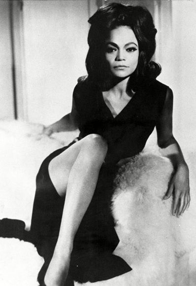 Eartha Kitt.  Cougar.